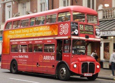 My blog at London